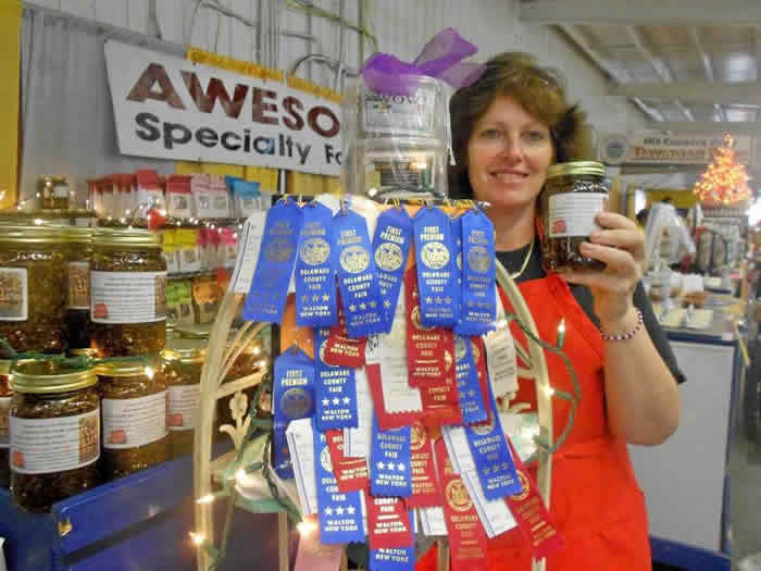 Loraine And The Awesome Ribbons From 2012!!! Congratulations!!!