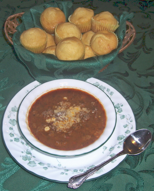 Awesome CHILI And CORN BREAD!