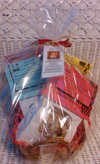 AWESOME SPECIALTIES SAVORY SOUP'S ON! GIFT BASKET!